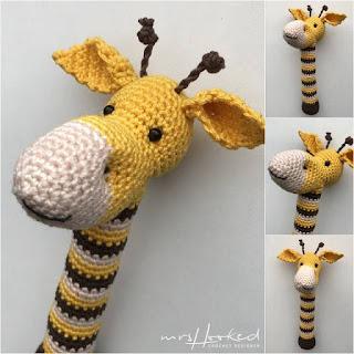 Crochet Giraffe PATTERN Amigurumi giraffe pattern pdf tutorial ... | 320x320