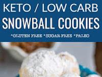 Low Carb Pecan Snowballs