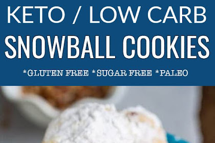 Low Carb Pecan Snowballs