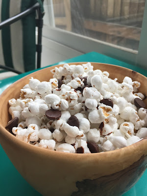 Dark Chocolate Popcorn