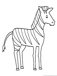 zebra coloring pages drawing sketch simple animals line printable easy animal zebras colouring drawings sheets outline getdrawings paintingvalley detailed african