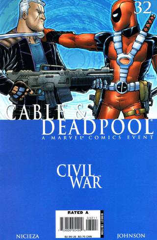 Civil War: Cable & Deadpool #32 PDF