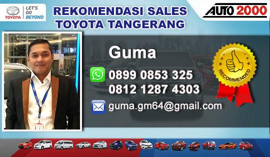 Rekomendasi Sales Toyota Bintaro Jaya Tangerang