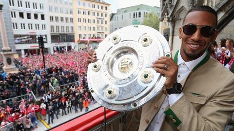 Boateng được vinh danh là cầu thủ xuất sắc nhất nước Đức