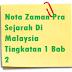 Nota Zaman Pra Sejarah Di Malaysia Tingkatan 1 Bab 2
