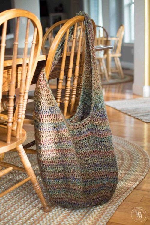 Extra Large Market Bag - Free Pattern