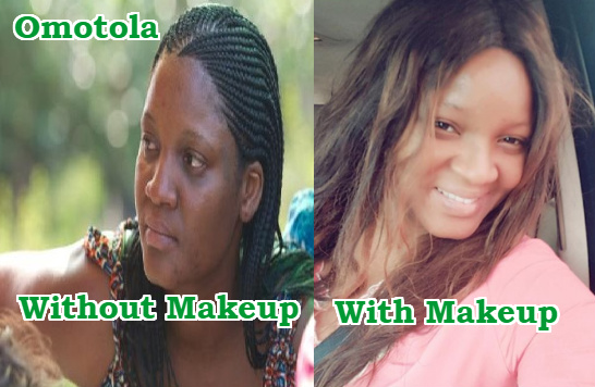 omotola jalade light makeup
