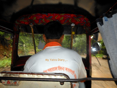 Rickshaw ride back to Mumbai - Tungareshwar temple in Vasai, Mumbai