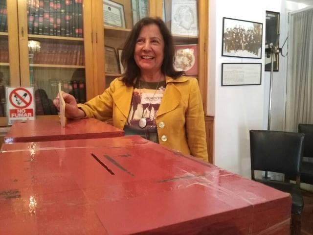 Margarita Pastene gana elecciones y asumirá como presidenta nacional el próximo 25 de noviembre