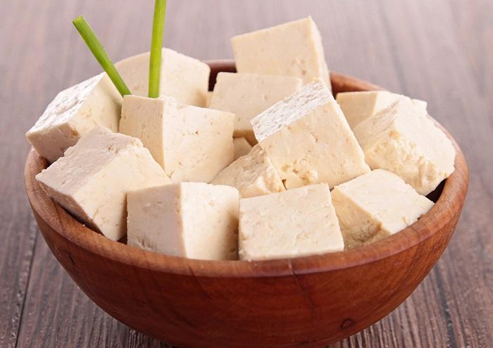 Tofu numa tigela