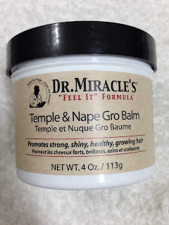 Dr Miracle Temple and Nape Gro Balm for hair loss