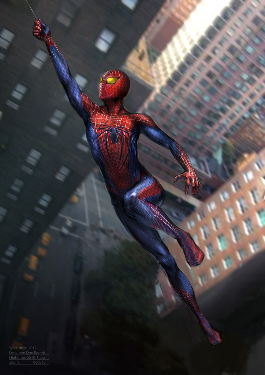 Amazing Spider Man Suit Concept Art
