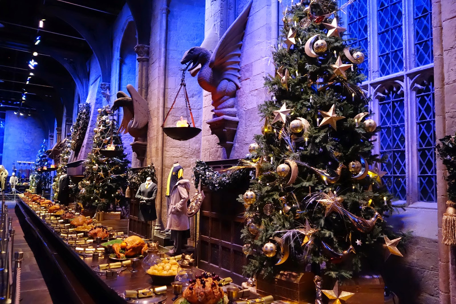 The Great Hall at Hogwarts, Harry Potter Studios