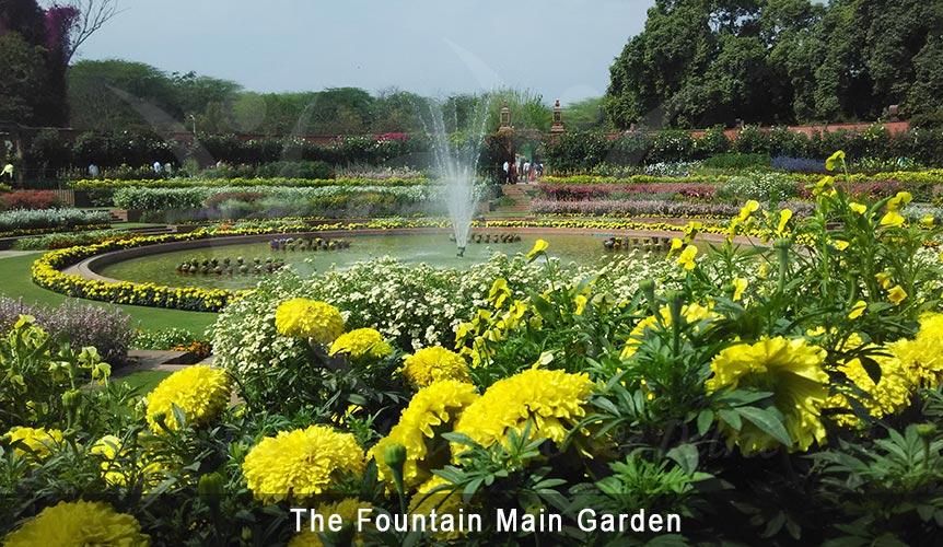 main circular garden