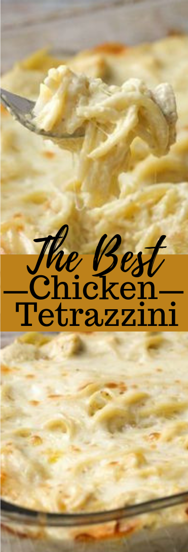 THE BEST CHICKEN TETRAZZINI #dinner