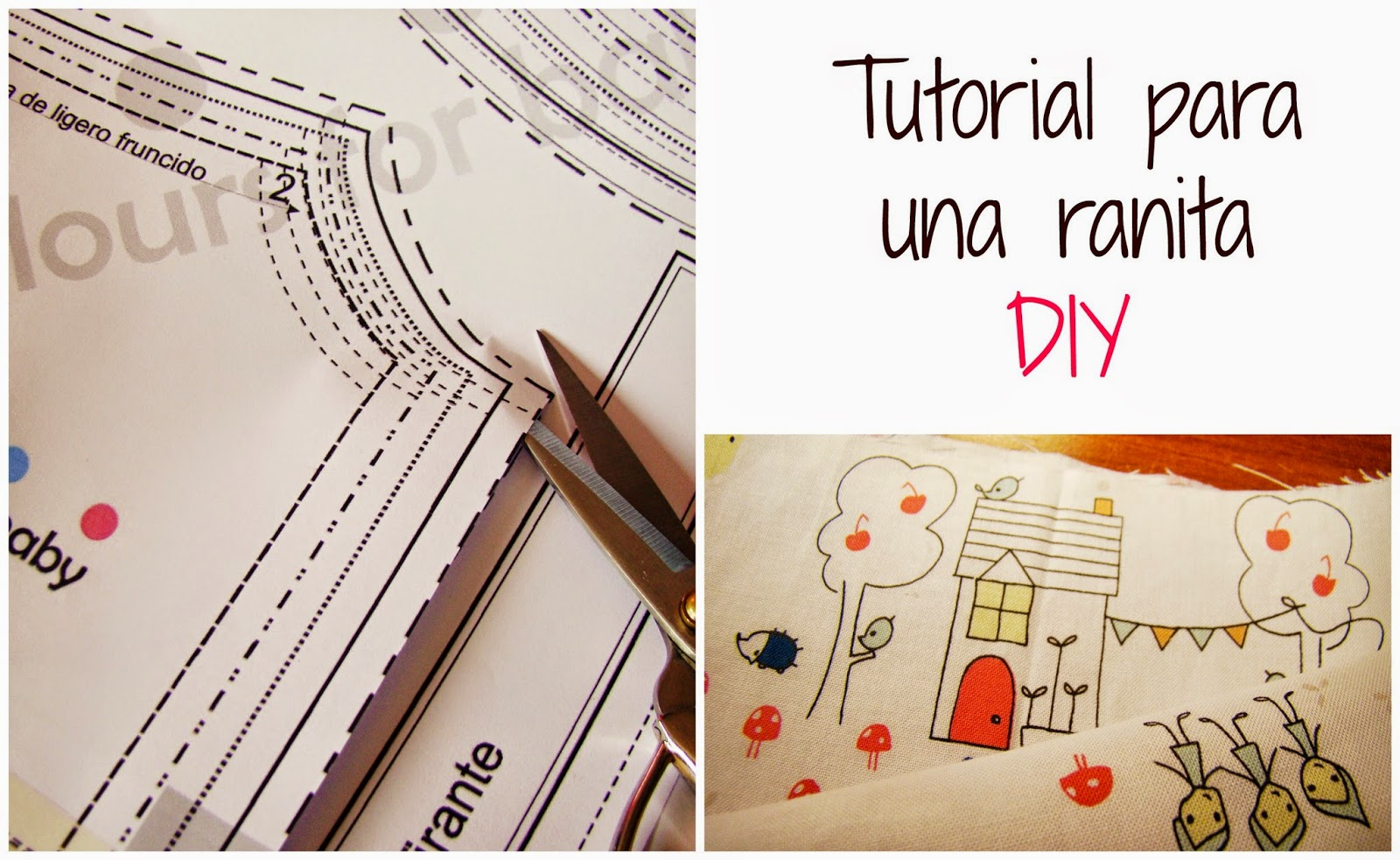 tutorial ranita DIY