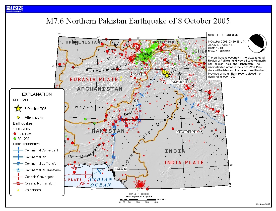 The Kashmir Earthquake Of October 8  2005  Impacts In Pakistan