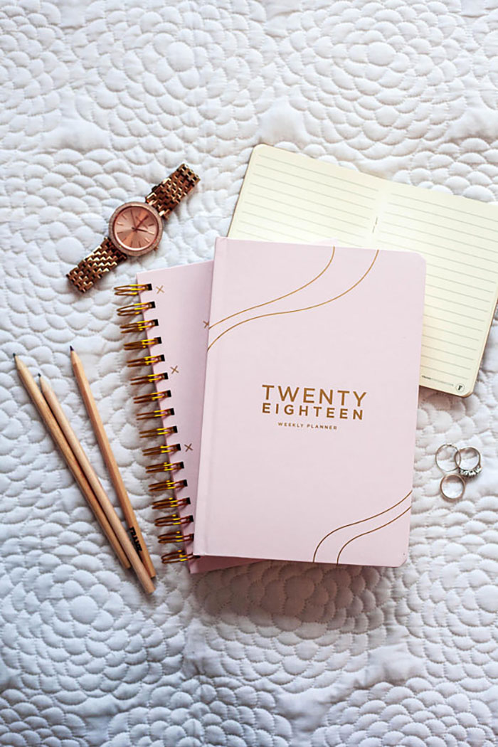 9 Cute Planners To Get Your 2018 Into Shape | Kayla Lynn