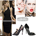 How to dress-up Chiffon Pleated One Shoulder Tea Length Little Black Dress 10bb9b5e1