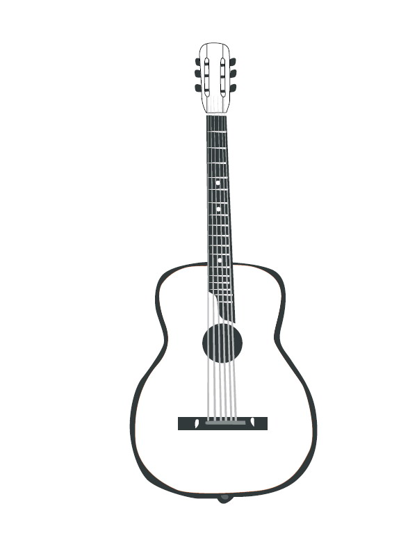 Electric Guitar Coloring Page Electric Guitar Coloring Pages ... | 800x600