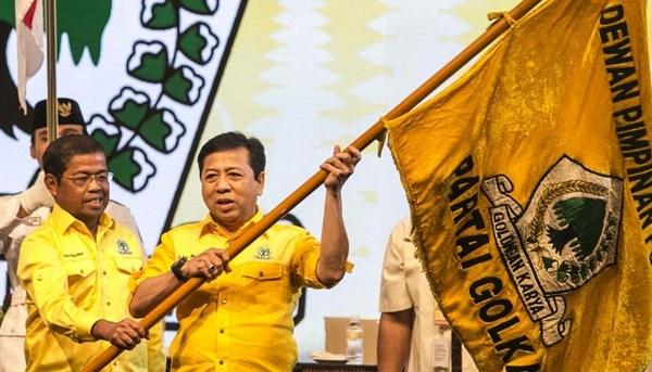 Partai Golkar akan mengusung Jokowi pada pilpres 2019