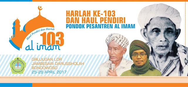Baground Pentas Haul dan Harlah Ponpes Al Imam Ke-103