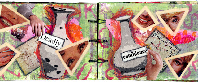 artist book by Claudia MB about girls and math