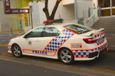 Queensland Police Vehicle