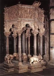 Púlpito del Baptisterio de Pisa