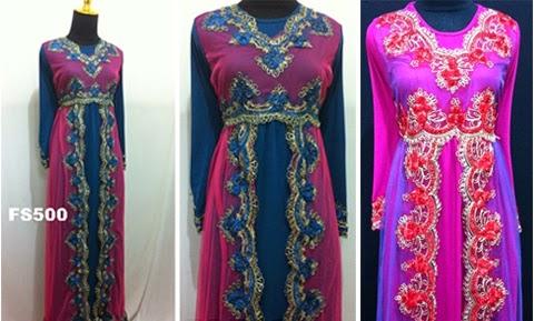 Baju Gamis Renda Untuk Orang Gemuk Gamis Murni