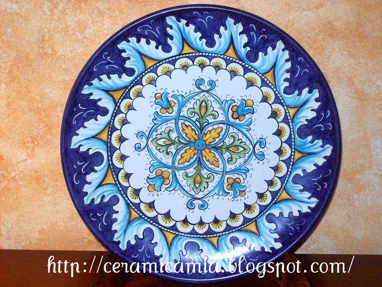 Ceramica che passione Tipi delle decorazioni su maiolica