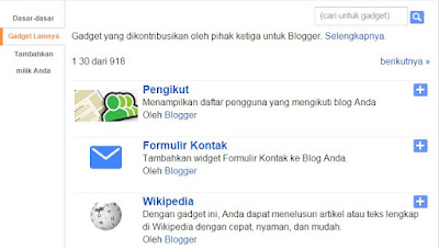 Menambah Contact Form di Blogger