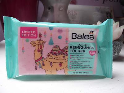 Balea Cool Camel obrúsky na pleť
