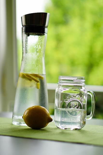 eau détox citron