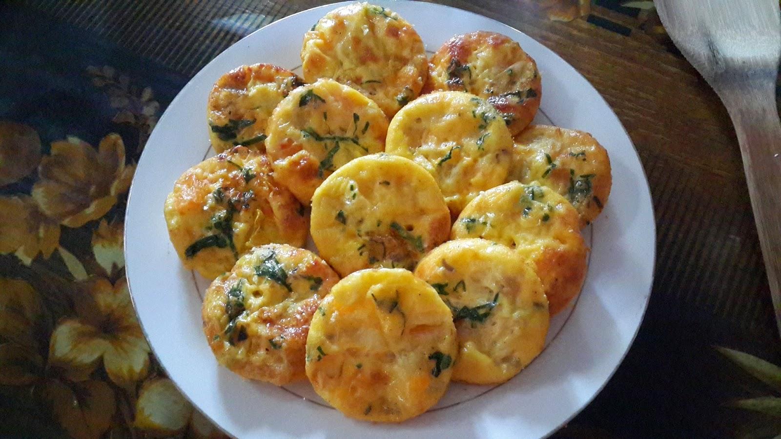 resepi muffin telur yang senang