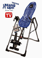 Teeter Hang Ups EP 960 Inversion Table for back pain relief. Relieves pressure on spine and joints. Improves flexibility, circulation, posture.