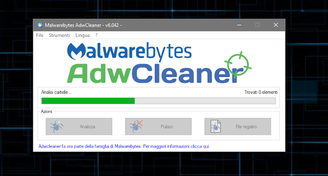 AdwCleaner screen-shot