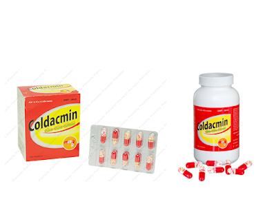 Thuốc cảm cúm Coldacmin flu