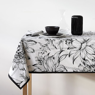 zara home table cloth