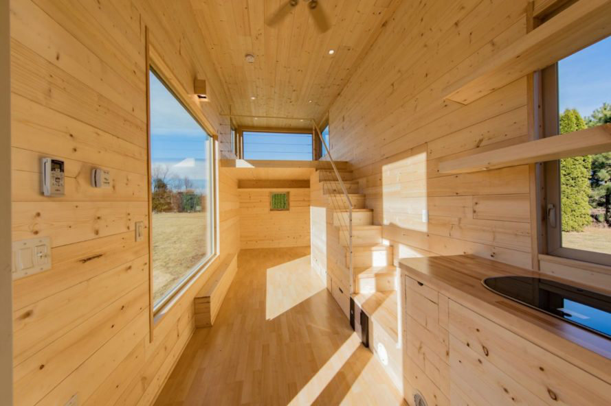 Tiny House Town: The Escape One Tiny House (276 Sq Ft)