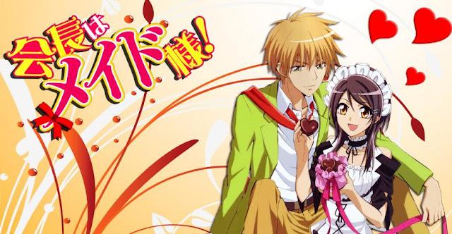 Anime Romance Comedy Terbaik Kaichou wa Maid-sama!