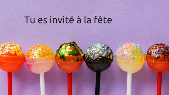 invitation fête d'enfants