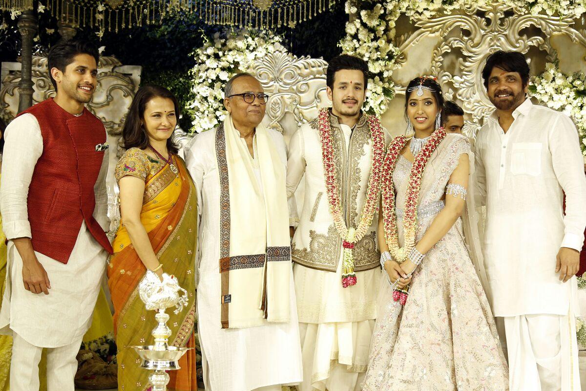 Akkineni Akhil Engagement photos-HQ-Photo-2