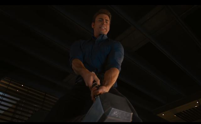 Capitão América sempre foi digno de levantar o Mjolnir?