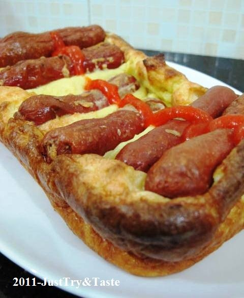 Resep Toad in the Hole