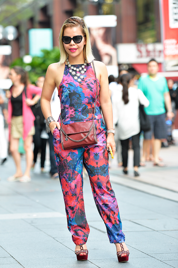 Crystal Phuong- Singapore Fashion Week 2015- Street Style