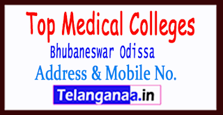Top Medical Colleges in Bhubaneswar Odissa