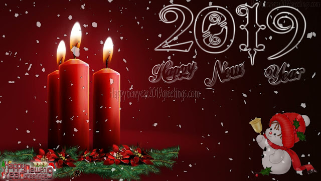 Happy New Year 2019 Images With Colorful Background's Download
