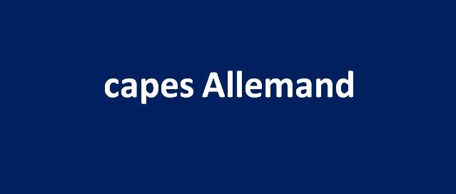 capes Allemand  2007 مناظرة كاباس المانية   2007