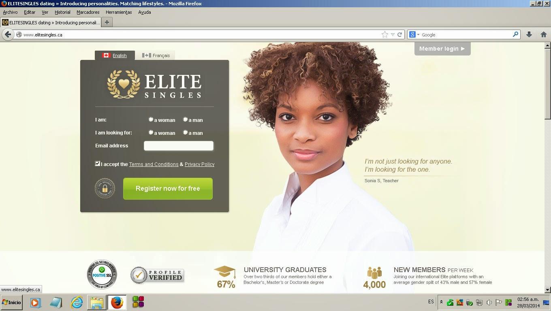 Elite online dating canada